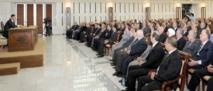 Un coup de balai au sein du parti  Baas syrien