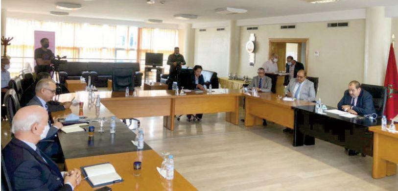 Réunion entre l'USFP et la Commission spéciale sur le modèle de développement