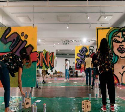 Le Street Art s 'invite à Rabat