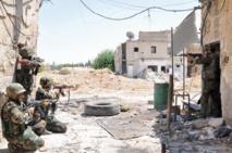 L'armée syrienne poursuit ses attaques contre les rebelles