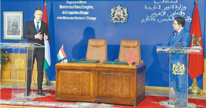 La Hongrie réitère son soutien au Plan d'autonomie au Sahara