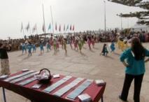 """La plage d'Essaouira labellisée """"Pavillon bleu"""""""