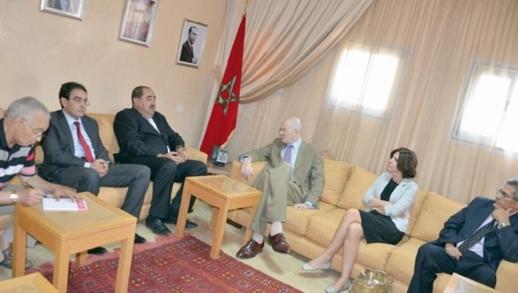 Le renforcement des relations entre le Maroc et l'UE au centre d'un entretien entre Driss Lachgar et Robert Joy
