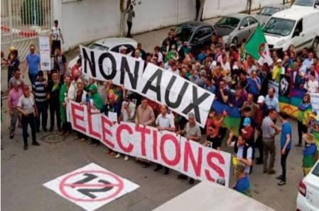 Les élections ne vont pas régler le problème d'un régime algérien en manque cruel de légitimité