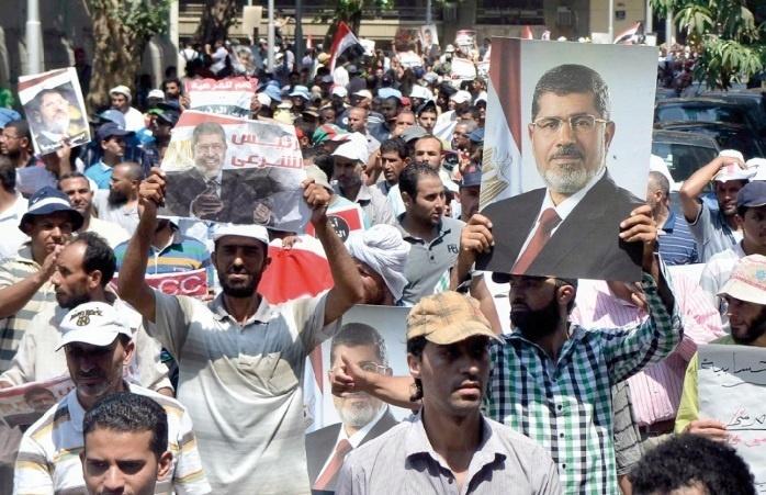 Mobilisation des islamistes en Egypte
