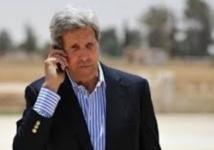 Kerry consulte à nouveau les Palestiniens avant son départ