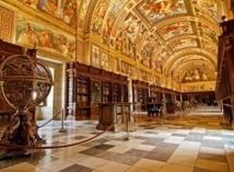 La bibliothèque de l'Escurial de Madrid abrite la plus grande collection mondiale de manuscrits
