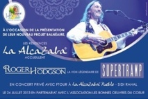 Roger Hogdson en concert inédit au Mazagan