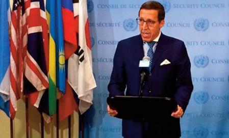 Omar Hilale: Tout règlement n'est concevable que dans le cadre de la souveraineté et de l'intégrité territoriale du Maroc