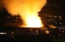 Incendie dans un entrepôt de carburant à Guelmim