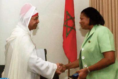 Soutien de Sainte-Lucie au plan d'autonomie au Sahara