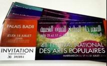 Clôture en apothéose du 48ème Festival international des arts populaires de Marrakech