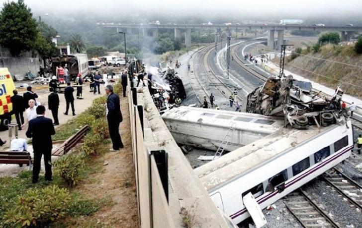 77 morts dans le déraillement d'un train en Espagne