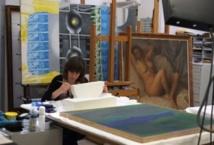 Au Reina Sofia de Madrid, un robot aide à restaurer les tableaux
