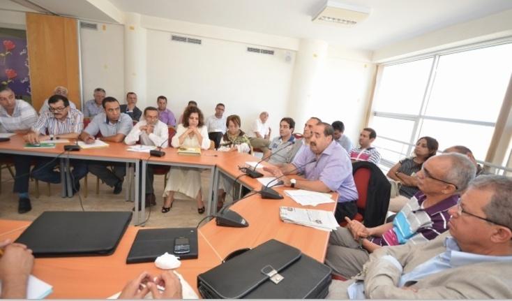 Réunion du Bureau politique de l'USFP avec les responsables provinciaux et régionaux du parti