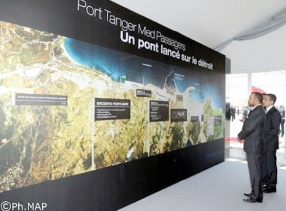 Spécial Fête du Trône : Port de Tanger-Med Au service de la compétitivité de l'économie marocaine
