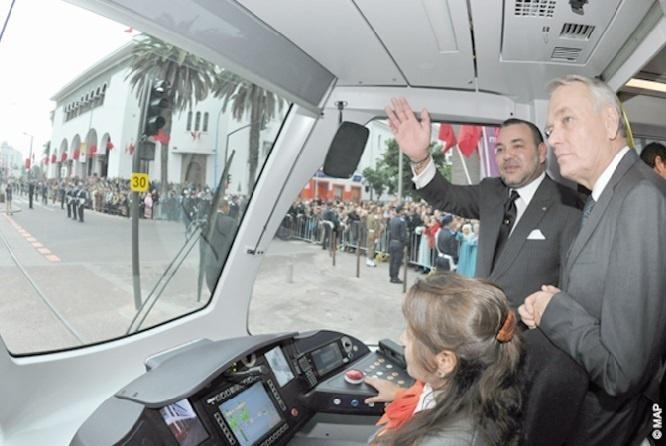 Spécial Fête du Trône : Tramways de Rabat et Casablanca