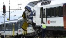 Collision frontale entre deux trains en suisse