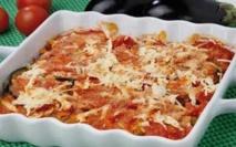 Recette :Gratin aux aubergines et frites