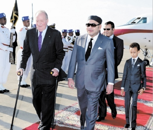 Libération de 48 prisonniers espagnols sur ordre de S.M le Roi Mohammed VI
