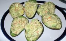 Recette : Salade d'avocat et de crevettes