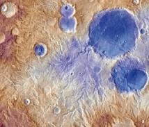 Des chutes de neige auraient façonné les vallées de la planète rouge