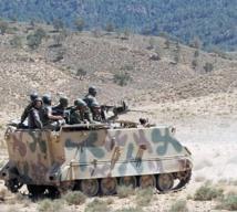 """Opération militaire de """"grande ampleur""""  en Tunisie"""