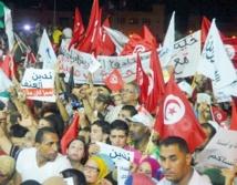 Démonstration de force des islamistes au pouvoir en Tunisie