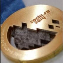 Insolite : Des morceaux de météorite dans les médailles