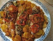 Recette : Sardines marinées et légumes