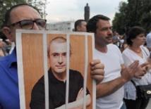 Le cas de l'opposant Khodorkovski devant la cour suprême Russe