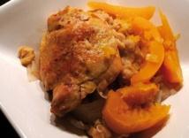 Recette :Tajine de poulet à la citrouille et à l'huile d'argan