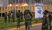 Gigantesque incendie à l'aéroport de Nairobi