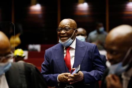 Jacob Zuma, condamné, ne se constituera pas prisonnier