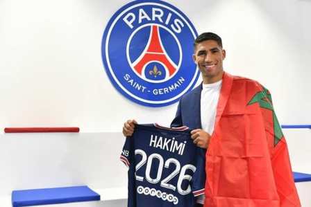 Achraf Hakimi : Fier de jouer pour l' un des clubs les plus prestigieux du monde