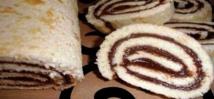 Recette : Gâteau roulé à l'orange et au Nutella