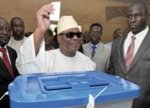 Ibrahim Boubacar Keïta, futur président du Mali