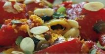 Recette : Salade de poivron rouge au cumin