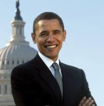 Portrait  Barack Obama: premier Afro-Américain  à occuper la fonction de président des Etats-Unis