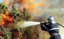 Réunion de travail sur l'incendie d'Amskroud