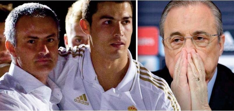 Florentino Perez critique Cristiano Ronaldo et Mourinho dans de nouveaux enregistrements