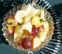Recette : Salade de fruits (toute nature)