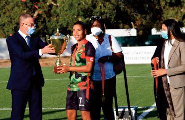 L'AS FAR reçoit leTrophée du championnat national de première division