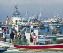 Les pêcheurs espagnols manifestent contre le récif de Gibraltar