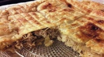Recette : Tarte au poulet et à la mozzarella