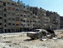 L'armée syrienne bombarde les faubourgs de Damas