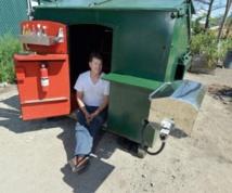 La benne à ordures, un nouveau type d'appartement