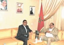 Driss Lachgar reçoit l'ancien ambassadeur d'Egypte à Rabat