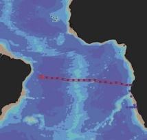 Un nuage de fer découvert au fond de l'Atlantique