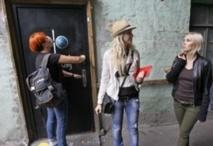 La police  ukrainienne aurait  découvert des armes chez les Femen